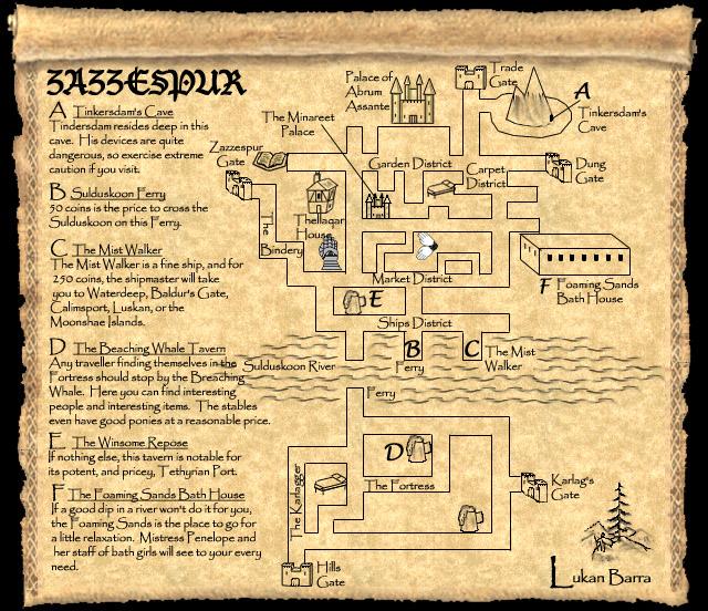 Forgotten Kingdoms Maps